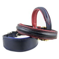 ESB Leather Padded Dog Collars