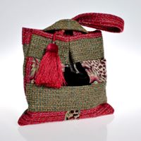 Pouch bag by Bernadette Erskine-Hornyold
