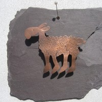 Copper Sheep by Angela Thoo