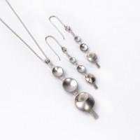 Silver pendants by Angela Thoo