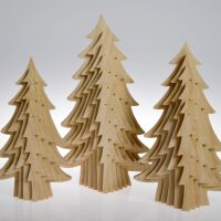 Xmas trees by Sarah Pinnell