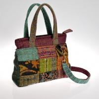 Patchwork handbag by Bernadette Erskine-Hornyold