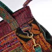 Detachable shoulder strap detail - Bernadette Erskine-Hornyold
