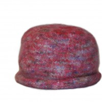 Felted Sheep pink hat
