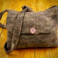 Felted Sheep shoulder bag