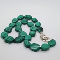 Malachite necklace by Janis Waldron