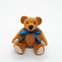 Janis Waldron - Bear, blue bow
