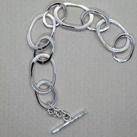 Janis Waldron - Silver bracelet
