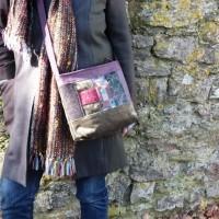 Shoulder bag by Bernadette Erskine-Hornyold