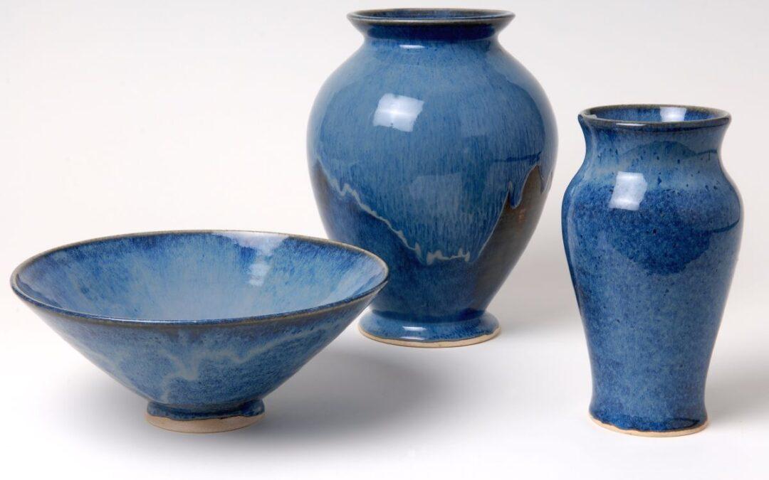 Rachel Padley blue ceramics