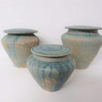 Rachel Padley - lidded pots