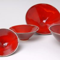 Rachel Padley red ceramics