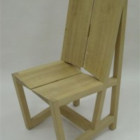 Straight Chair by Martin Urmston