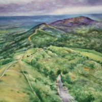 The Malverns by Harcourt China