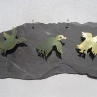 Flying ducks by Angela Thoo