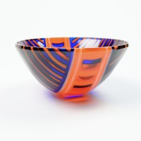 Glass bowl by Black Cat Designs