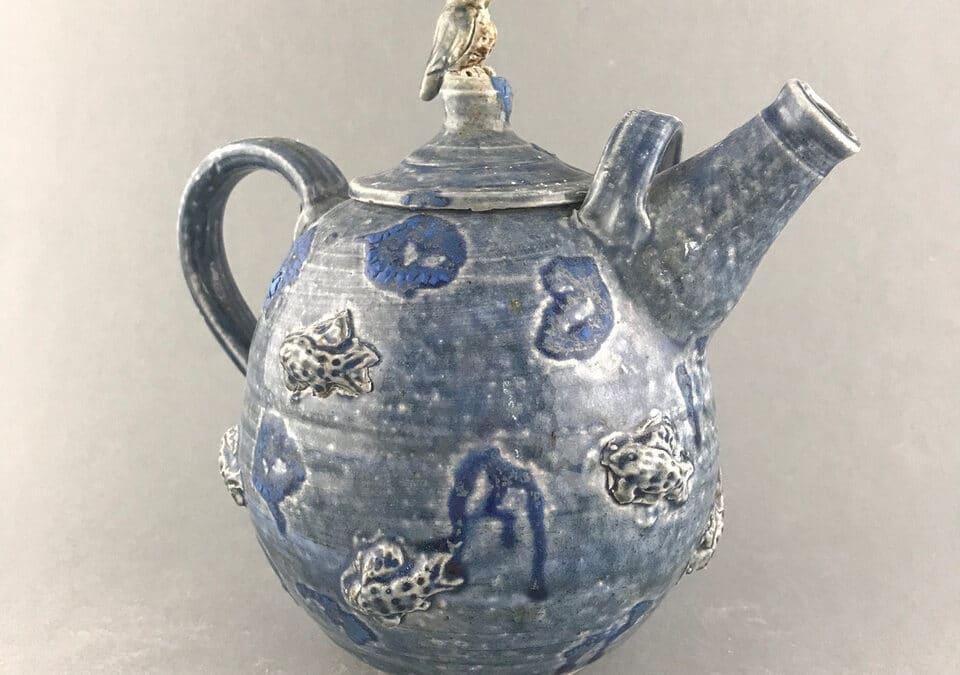 Bill Rolls Kingfisher Teapot