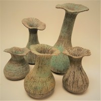 Organic Pots by Claire Billingsley